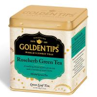 RoseHerb Green Tea Tin Can -100gm