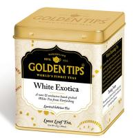 White Exotica Tea Tin Can -25gm