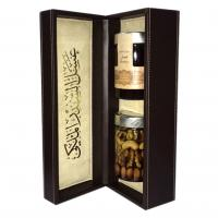 Sider emirates and nuts honey with leather box