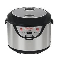 Tefal rice cooker 3 in 1 - 10 cups stainless steel