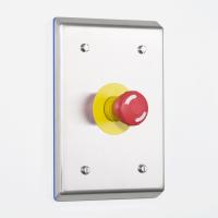 Sku: ph-ab-iso es-s316 flush mounted pharma push-button enclosure