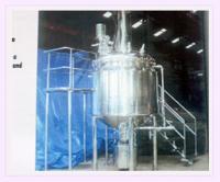 Mayonnaise manufacturing vessel  machine