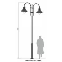 2.0.102-76.49-2.V14И-2 Contemporary Lighting Pole