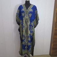 Kaftan printed kaftan dress