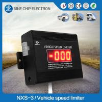 Electronic vehicle speed limiter keep safety car speed governor