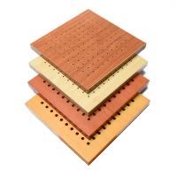 12mm MDF Acoustic Board Soundproof Perforated Wall Panel