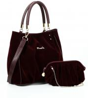 Shining j set - burgundy