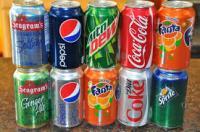 Cocacola Fanta Sprite