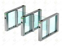 swing gates wing turnstile glass security turnstile gate