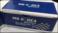 MF1383 MBKorea NISSAN VERSA 08- (D1345) BRAKE PAD