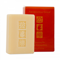 Aboriginal gold cleansing bar