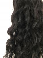 Virgin uncoloured brazilian virgin remy human hair weft 24inches curly wavy or straight