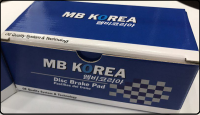 MR1247 MBKorea 583022PA70, GENESIS,MOHAVE 2010- RR BRAKE PAD