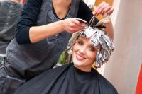 Hairdressing aluminium foil for salon use
