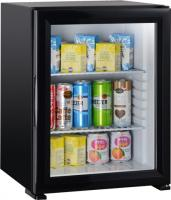 50 liters noiseless minibar glass door foamed door