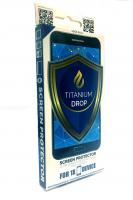 Titanium drop liquid screen protector