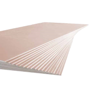 Onatpan Red 9.5mm Fire Resist Plaster Board