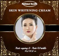 Optimal health skin whitening cream natural australian made product anti wrinkle lightening concentrated cream