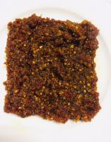 Spicy and original peanut sambal