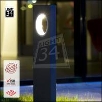 Decorative outdoor garden led bollard energy saving park yard street led lamp light