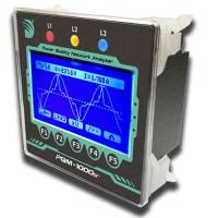 Multifunction lcd power meter/power quality network analyzer