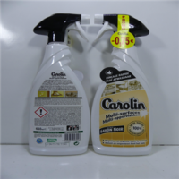 Carolin spray 650 ml multi clean avec savon noir