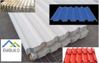 Steel and aluminum profile roof sheets