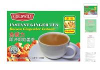Instant ginger tea 10's