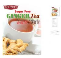 Sugar free ginger tea 10's