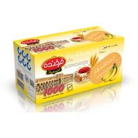 Biscuit with Banana Taste Topped with Sugar Model 1000