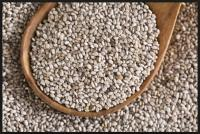 Australian grown white chia seed – 15kg poly bags