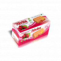 Biscuit with Strawberry Taste Topped with Sugar - Family Model