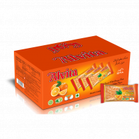 Biscuit with orange taste topped with sugar - shiny (60 pcs)