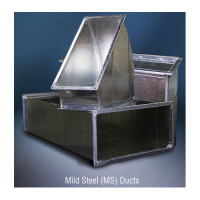 Mild Steel Air Duct