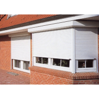 Outdoor aluminum window shutter