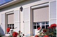 Electric aluminum venetian window blinds