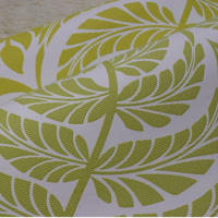 0.53m stella natural gold leaf wallpaper papur wal papur wal plant yn hapus