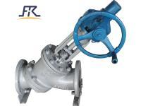 Y type slurry valve