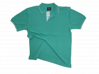 Blank polo t-shirt sea green