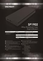 Mobile power bank ( 20000 mah )