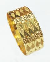 Cnc diegold brass bangles