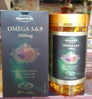Optimal health omega 369 premium tga licence made in australia 365 capsules
