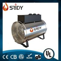 SRIDY Electric Greenhouse Heater Fan Heater 3 Heat Outputs 1kw 1.8kw & 2.8kw