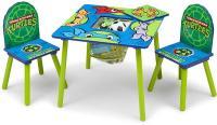 Teenage Mutant Ninja Turtles Table & Chair Set with Storage_2
