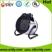 Free standing electrical fan heater for greenhouse shed construction site warm and dry