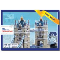 "3D Puzzle POP out world ""Tower Bridge"""