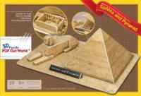 "3D Puzzle POP Out World ""The Sphinx and the Great Pyramid of Giza - Egypt"