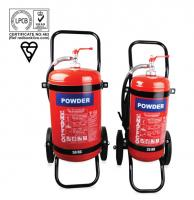 Mobile dry powder fire extinguishers
