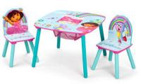 Dora Table & Chair Set with Storage