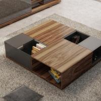 Modern coffee table-brown